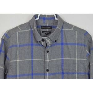 Banana Republic Large Shirt Plaid Luxe Flannel
